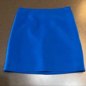 Blue Bebe Mini Skirt